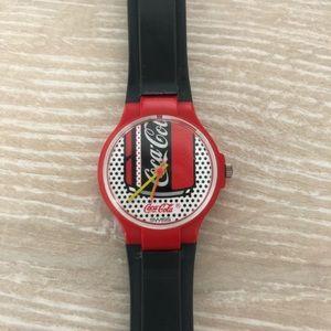 Vintage Warhol Style Coca Cola Swatch Watch